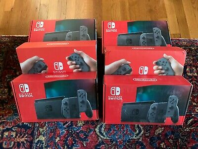 Nintendo Switch HAC-001(-01) 32GB Console with Gray Joy‑Con - SHIPS TODAY