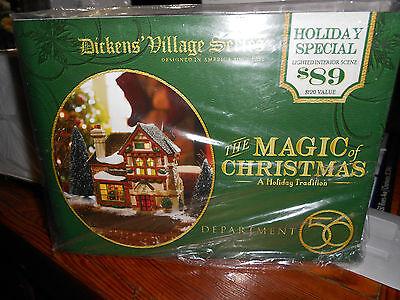 DEPT 56 DICKENS' VILLAGE THE MAGIC OF CHRISTMAS NIB *Read*