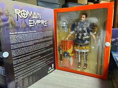 Ignite Roman Empire Gladiator Russell Crowe 1:6 Die Cast Metal Action Figure NEW