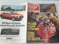 Autosprint_1982 N. 2_gilles Villeneuve Record A Fiorano_ferrari 126 C2_triumph -  - ebay.it