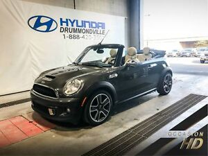 MINI COOPER S CONVERTIBLE + STYLE/ESSENTIAL PACK + CUIR + WOW !
