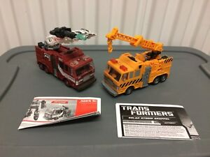 Transformers Inferno and Grapple