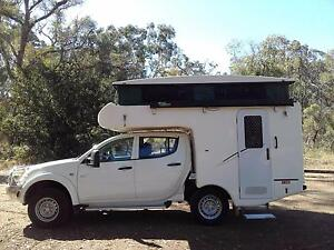 4WD CAMPERVAN MITSUBISHI TRITON DUAL CAB 2011 Capital Hill South Canberra Preview