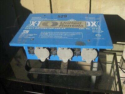 Blue X-treme Power Distribution Box