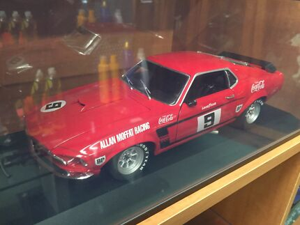 Allan Moffat Racing coco-cola Ford Mustang model