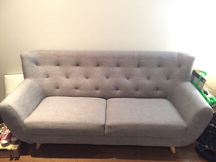 Amart Betty Fabric 3 Seater Sofa Bed Sofas Gumtree Australia