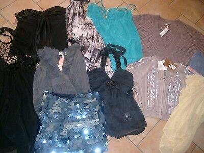 (K54) Posten Lipsy Damen Kleider Jacken Oberteile 11 Teile Lagerware gr.38-40/12