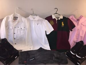 Jordan, Nike, Polo Ralph Lauren, & Truey - Read Description