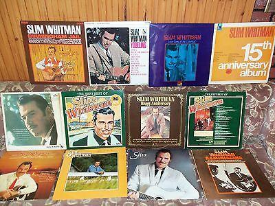SLIM WHITMAN - JOB LOT X 18 ALBUMS - BOX SET - BOOKLET  - JUST £25