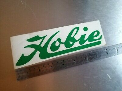 Hobie boat yacht sail catamaran sailing windsurf surfboard sticker 200mm green