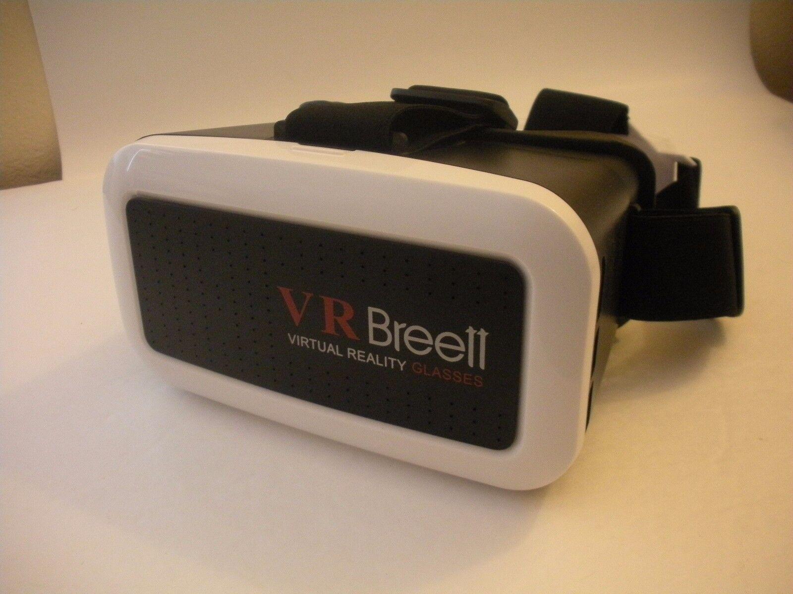 VR Breett  3D Virtual Reality Headset Glasses