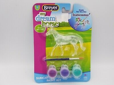 BREYER Stablemate Suncatcher Unicorn Paint & Play #5472 Thoroughbred