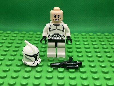 LEGO Star Wars Mini Figure Clone Trooper SW0442 Complete With Blaster