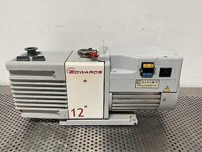Edwards Rv12 Rotary Vane Vacuum Pump 115v W Kf25 Fitting