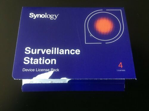Synology IP Camera 4-License Pack Kit for Surveillance Station