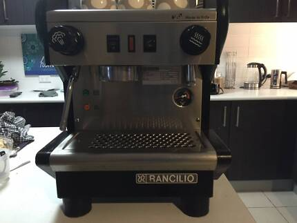Rancilio Single Group Commercial Coffee Machine + Bo-Ema Grinder Ipswich Ipswich City Preview