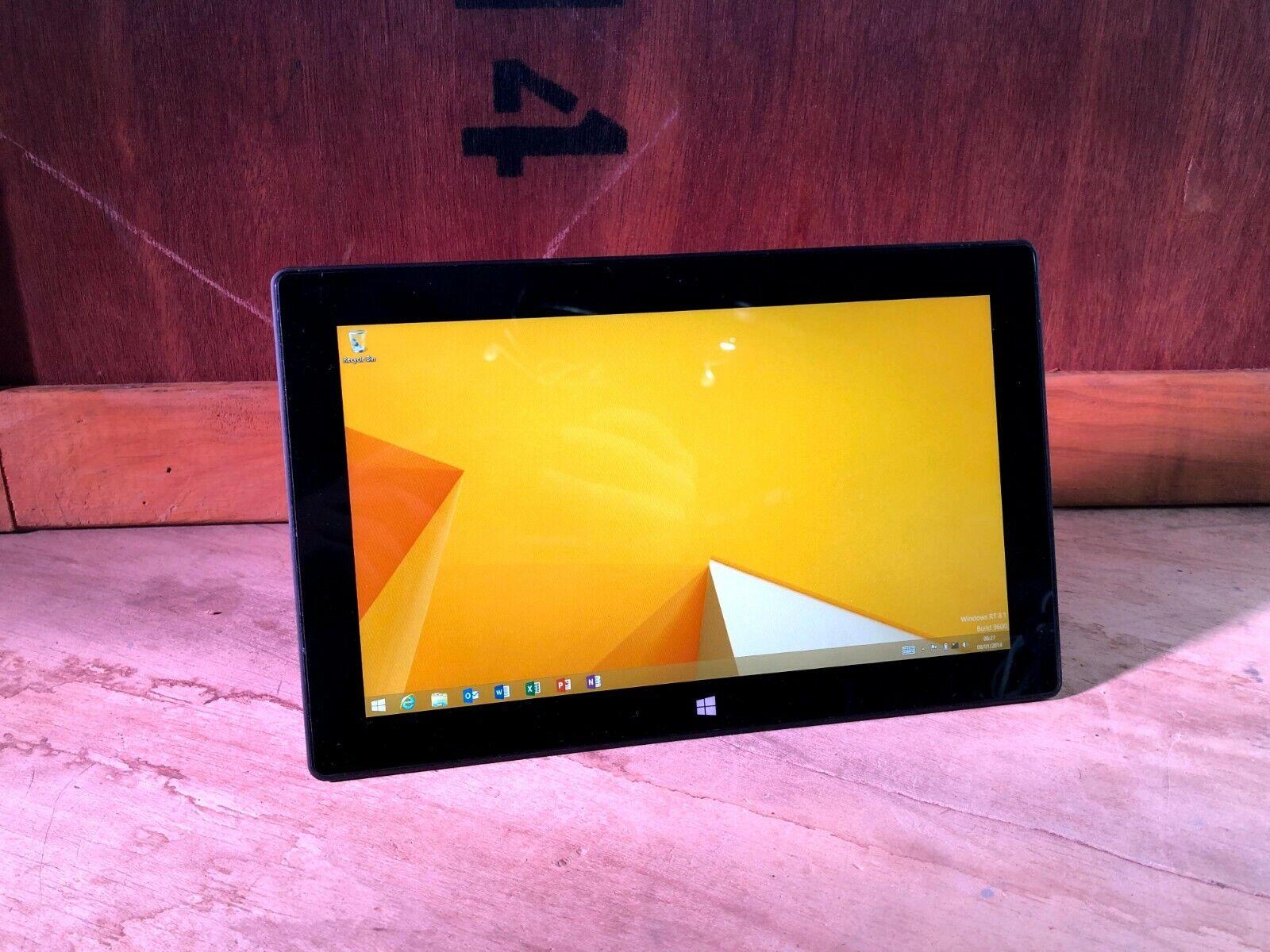 Laptop Windows - Microsoft Surface RT Model 1516 Grey Black 32GB 64GB Windows