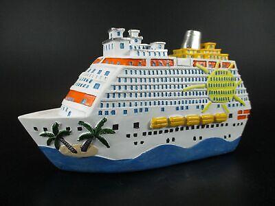 Hucha Barco Crucero Viajes Hucha 20 cm, Money Box Banco