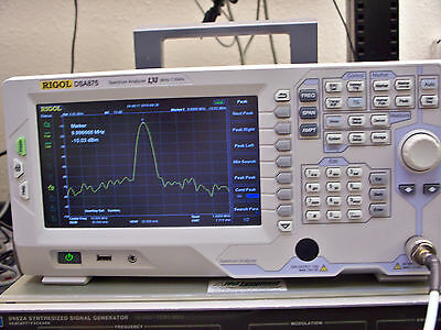 Rigol Dsa875 Spectrum Analyzer 7.5 Ghz