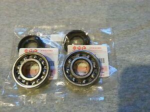 Suzuki LT80 1987-2006, Quadsport Crankshaft, Crank Bearings with OEM seals