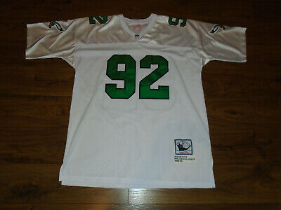 NICE Mitchell & Ness Reggie White Authentic Football Jersey White Sie 52 USED Mitchell & Ness Football Jersey