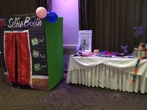Photo booth/Selfie booth. For parties or for child's play.