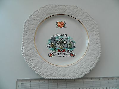 Prince of Wales Investiture 1969 Lord Nelson Pottery Plate