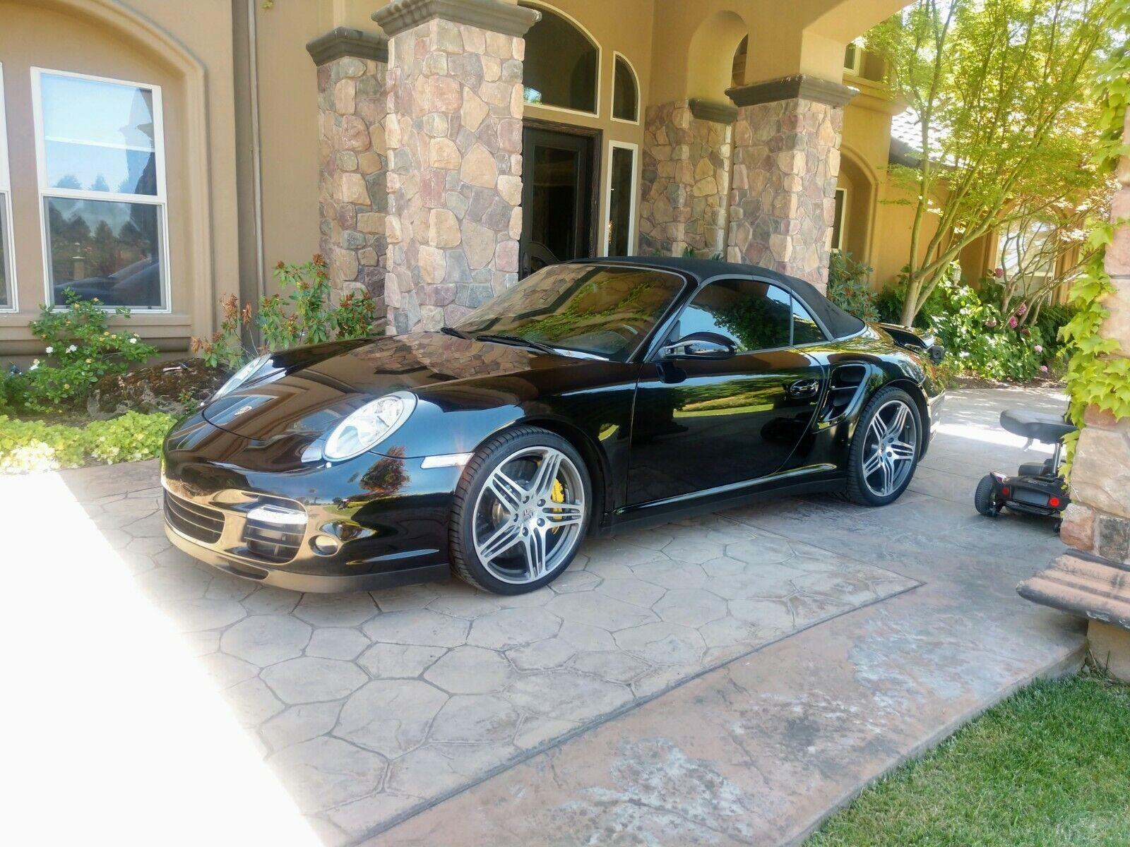 2008 porsche 911 turbo 3.6l