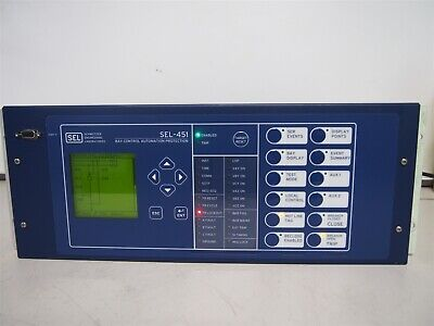 Sel Sel-451 Bay Control Automation Protection Control Unit