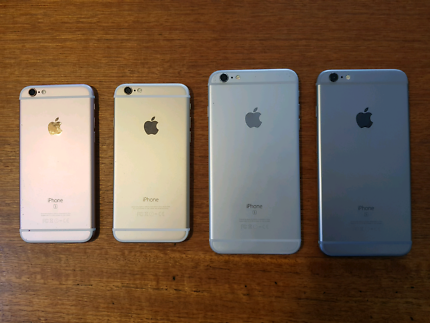 iPhone 6, 6s and 6s Plus