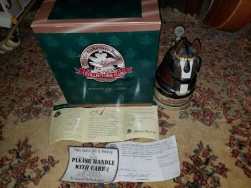 Anheuser Busch CB4 1996 Members Stein Boxed