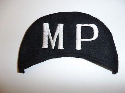 e1386 Korean War US Army MP Military Police cover Pile cap/hat winter R8E