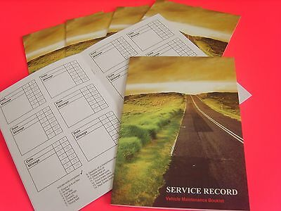 Generic Service History Book Blank NEW Jaguar XF XJ X XJ6 K S-Type F-Type Cars