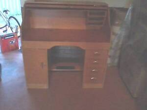 Vintage Roll Top Desk Bull Creek Melville Area Preview
