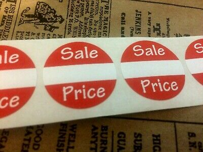 250 Self-adhesive Sales Price Labels 1 Stickers Tags Retail Store Supplies