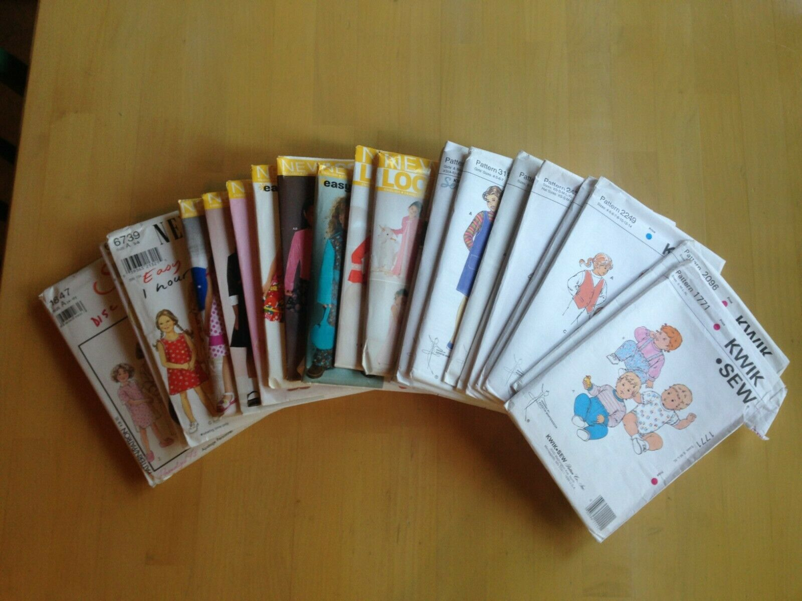 Children s Sewing Pattern, Kwik Sew New Look Style, Uncut, Choose Your Style - $3.95