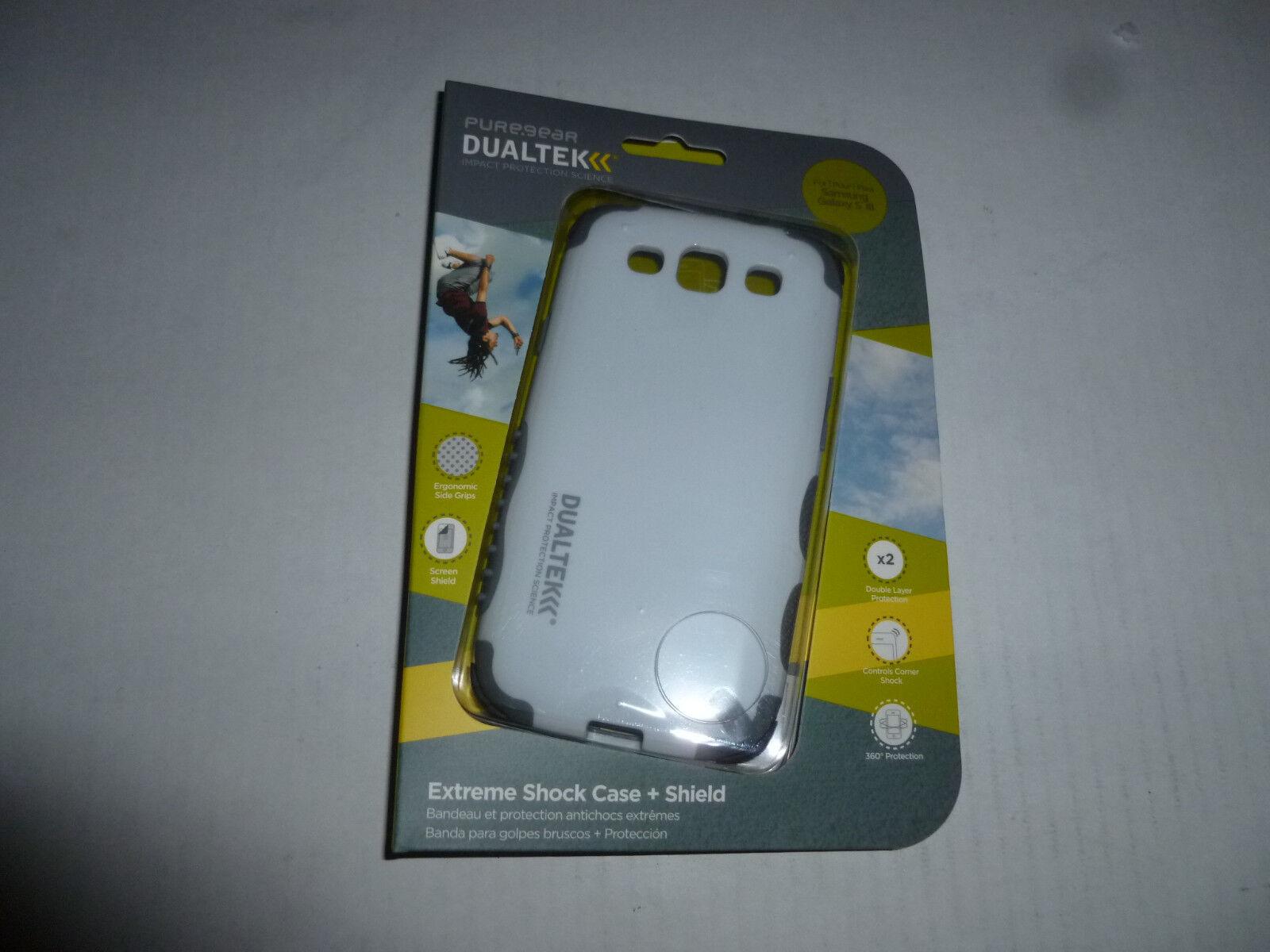 Cell Phone Samsung Galaxy S Iii Puregear Dualtek + Screen...