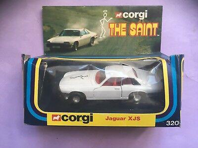 Corgi 320 Diecast Jaguar XJS The Saint (Boxed)