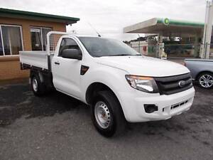 2013 4x4 Ford Ranger Drop Side Tray Ute  (3723) PRICE DROPPED Warrenheip Ballarat City Preview