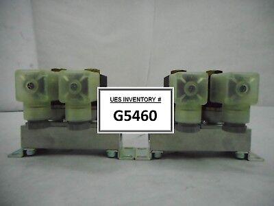 Ckd Gab3t2-3 Solenoid Valve Manifold Gab3x A714 Reseller Lot Of 2 New