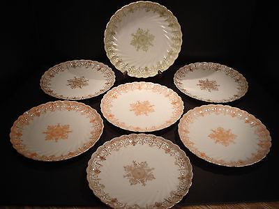 Austrian Gutherz Marx Carlsbad Dinner Plate set of seven