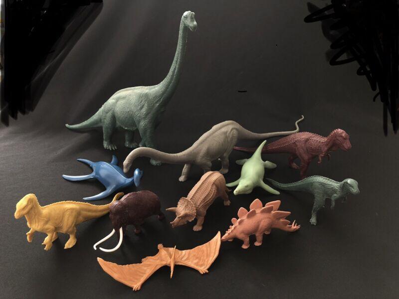 Vintage Dinosaur Lot British Museum Natural History 70s & 80s Invicta Plastics