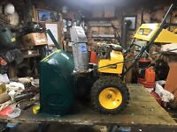 YardMachines 11Hp snowblower