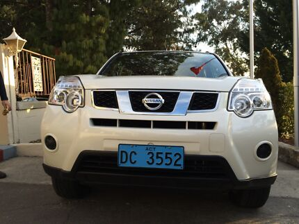 2011 White Nissan X-trail mint condition Lyons Woden Valley Preview