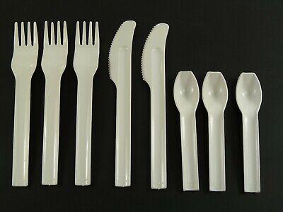 PLASTIC Airway Cutlery - Joe Colombo for ALITALIA - 8 Piece Set