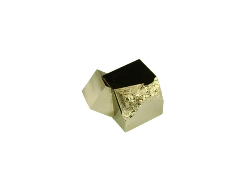 Navajun Spain Mine - Pyrite Cube Crystal With Display Case-#PC11