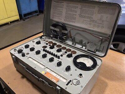 Hickok Tv-10au Tube Tester - Navy