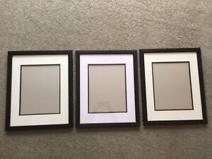 """3 - frames for 11x14"""" pictures"""
