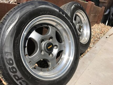"""Simmons F90 15x7"""" Commodore rims, wheels, mags & tyres"""