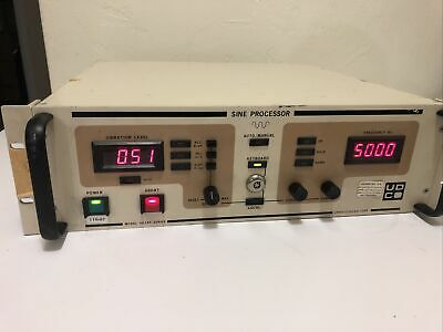 Unholtz-dickie Ud345 Sine Processor For 400ats Vibration Shaker Control System